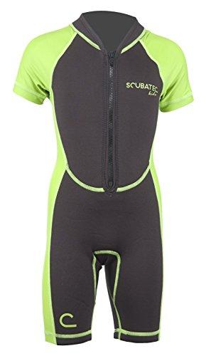 Scubatec Neopren-Lycra Kindershorty, grün, 140-146 (M)