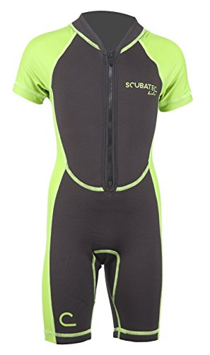 Scubatec Neopren-Lycra Kindershorty, grün, 104-110 (XXS)
