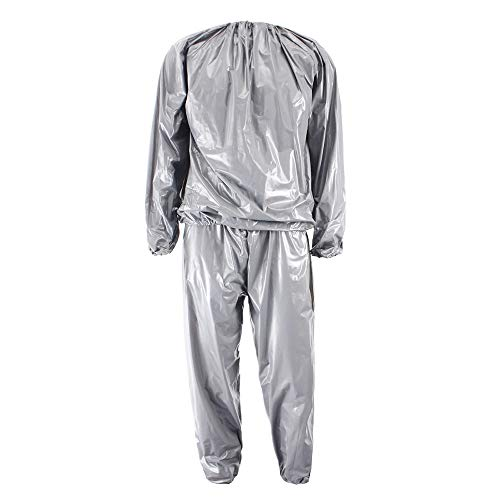 DMD Sauna Sweat Suit Weight Loss Gym Fitness Exercise Suit Workout for Men and Women - XL