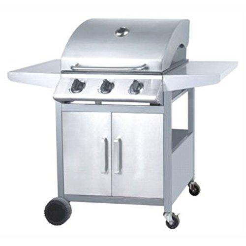 Mercagas mt02403–Barbecue 3bruciatori Gas