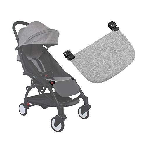 21cm Passeggino Estensione del Poggiapiedi Universale Pedale Sedile Esteso Passeggino Accessorio Supporto del Piede per YOYA VOVO Passeggino (Gray)