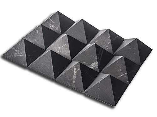 Shungite piramide ongepolijste natuurlijke Shungites steen