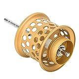 Changor 1.0ygk-120m Pescar Carrete Carrete, Cable Taza Manivela Balancín Aluminio Completo Metal