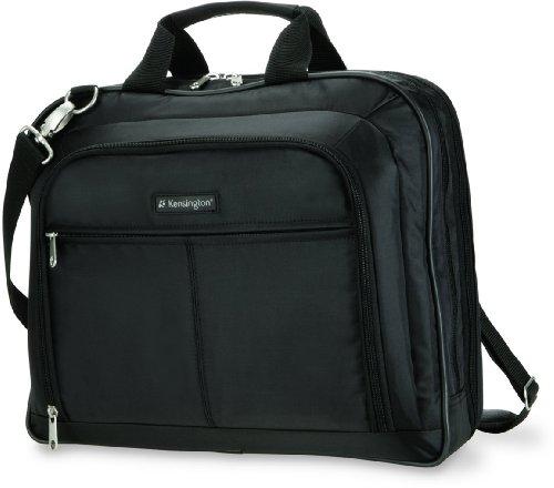 Kensington Laptop Case - Simply Portable Classic Case for 15.6' laptop - MacBook Pro, MacBook Air, HP laptop, tablets - Laptop case for men & women with carry handle & shoulder strap (K62563EU)