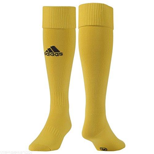 adidas Milano Sock Medias-Hombre, Dorado (Dorado/Negro), 0