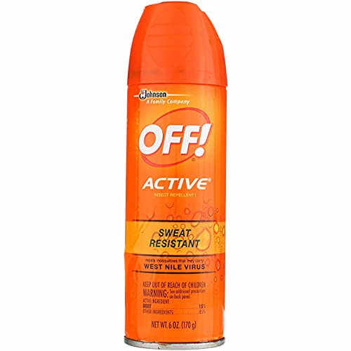 OFF! Deep Woods Insect Repellant Spray, 6 oz (Pack of 2)