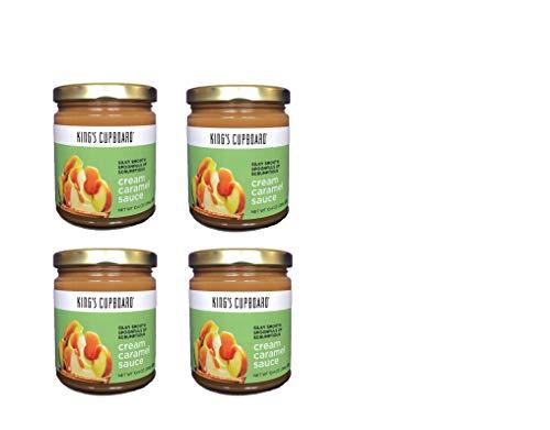 King's Cupboard - Cream Caramel Sauce, 4 Jar