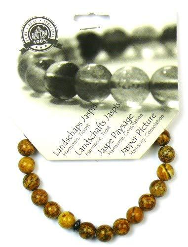 Steengoed Armband 8 Mm Jaspis Landschap