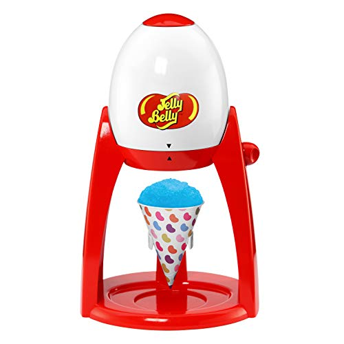 Jelly Belly JB15335 Electric Ice Shaver Snow Cone Maker, 3-Piece, Red (Discontinued by Manufacturer)