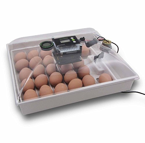 IncuView All-in-One Automatic Egg Incubator w Built-in Egg Turner, Incubator Warehouse, Easy-to-Use...