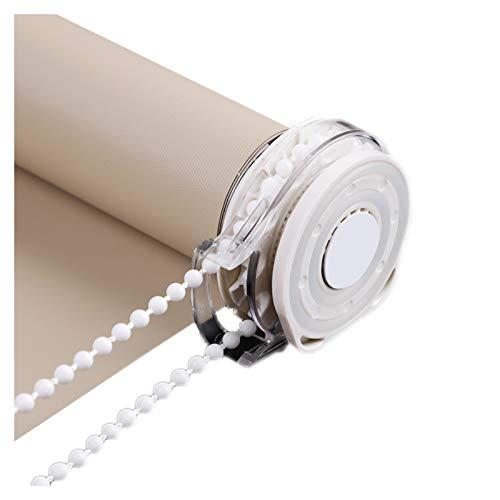 LIQICAI Estor Enrollable, Protección De La Privacidad Aislamiento Térmico, Parasol 100% Ciego para Cocina Dormitorio Sala De Estar, Tamaño Personalizado (Color : Brown-B, Size : 50cmX160cm)