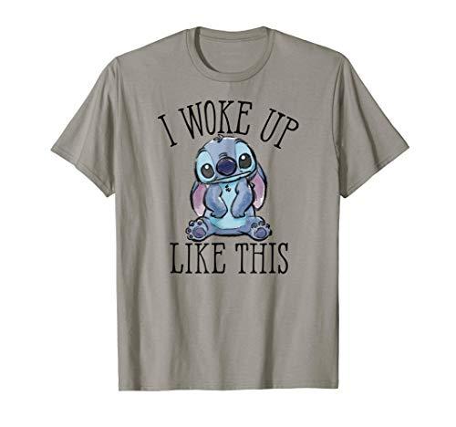 Disney Woke Up Like Stitch T Shirt