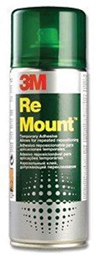 3M ReMount - Adhesivo reposicionable, 400ml