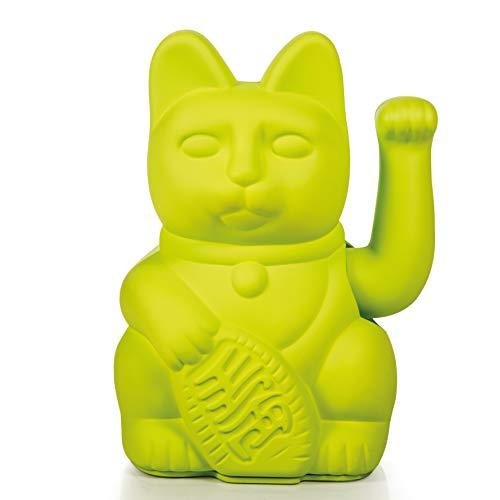 15 cm Donkey products Lucky Cat winkekatze amuleto de plástico azul aprox