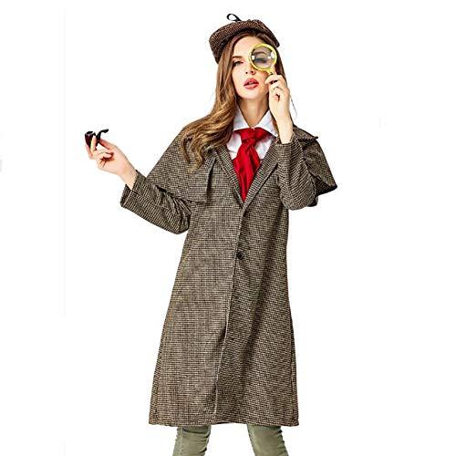 BLACK /& WHITE a scacchi il detective Cappello Deerstalker Giornata Mondiale del Libro Costume Cappello