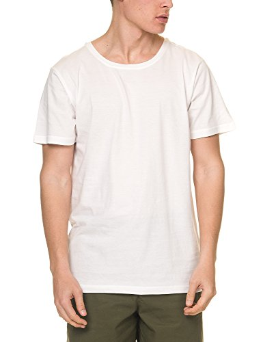 Dr Denim Jeansmakers Men's Patrick Men's White Tee In Size L White