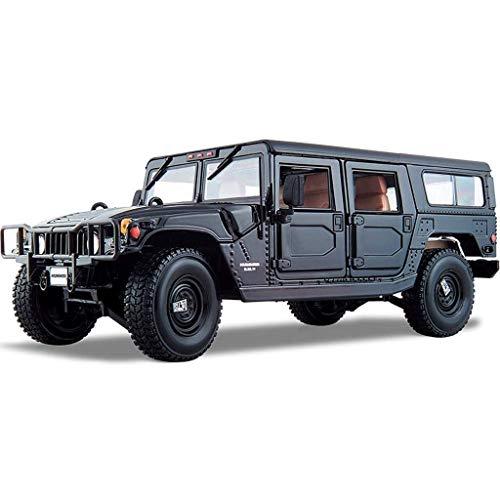 Model Car 01.18 Hummer H1 Geländewagen-Modell-Spielzeug Simulation Legierung Auto-Modell Metall Adult Kollektion Geschenk Dekoration