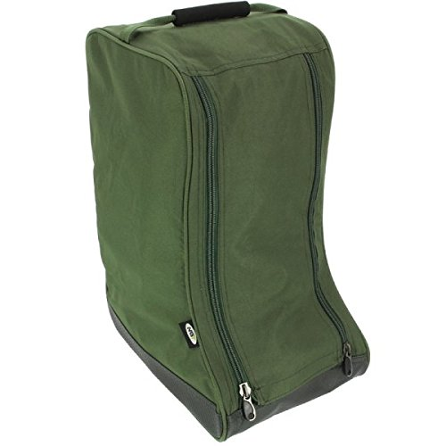 NGT Unisex's Deluxe Boot Bag, Green, One Size