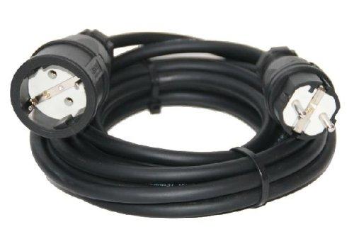 Verlängerungskabel Stromkabel H07RN-F 5m 3x2,5mm² Verlängerung IP44 NEU Gummikabel Kabel