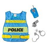 HomeDecTime Disfraz para Niños Disfraz de Policía Juguetes de Policía Accesorios Disfraz