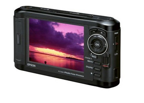 EPSON 4.0型PhotoFinePremia液晶搭載フォトビューワ Photo Fine Player P-7000 160GB