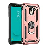 Oujietong mq Coque pour Samsung Galaxy J6+ 2018 J610FN Coque Phone Case Cover Etui Housse 4