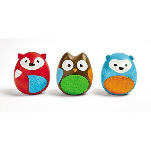 Skip Hop Egg Shaker Trio Baby Toy, Explore & More, 3pc Set