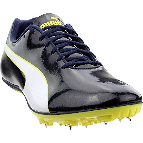 PUMA Mens Evospeed Sprint 9 Running Casual Shoes, Black, 11.5