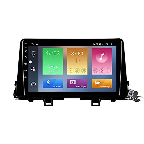 Android 11 9 Pollici Autoradio Multimediale per Kia Morning 3 picanto 2017-2020 Supporto Navigatore GPS/FM AM RDS 5G DSP/Bluetooth Vivavoce/Carplay Android Auto/Controllo del Volante,M500s