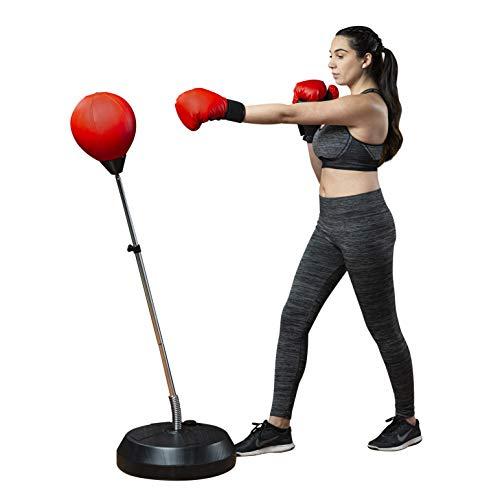 Tech Tools Punchingball Set mit Boxhandschuhen & Pumpe - Boxsack-Set
