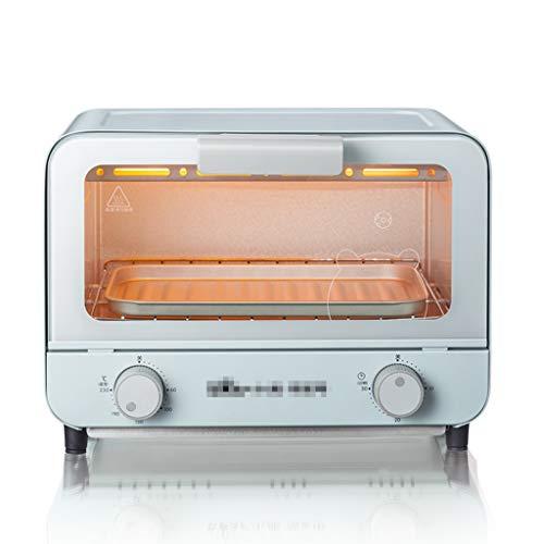 Mini-four 6L, petit four électrique 800 W pour dortoir, bureau, 8 biscuits, pâtes, petit grille-pain