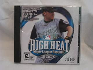 High Heat Major League Baseball 2004 3DO PC CD-ROM