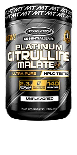 Muscletech Essential Series Citrulline Malate Powder 140 Servings,...