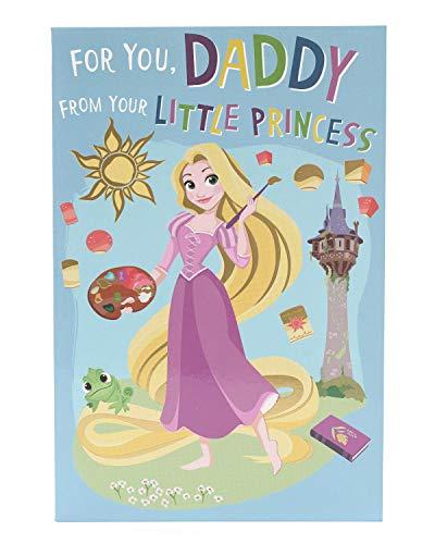 Daddy Verjaardagskaart - Verjaardagskaart Verzenden Van Kinderen - Van Uw Kleine Prinses Kaart - Verjaardagskaart - Verjaardagskaart Voor Hem - Cadeaukaart Voor Hem