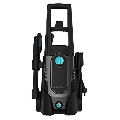 Cecotec hidrolimpiadora HidroBoost 1600 Car&Bike. Especial para coche y bici. Compacta, potente y portátil. Botella para jabón y cepillos especiales. Máx potencia 1600 W. Caudal máx 426 l/h 135 bar.