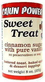 Cajun Power sweet treat cinnamon sugar W/ pure vanilla 8 ounce