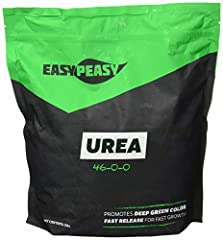 Highest quality nitrogen source that is easy and safe to apply to flowers, shrubs, and gardens. Urea Nitrogen 46-0-0 provides safe and vigorous green growth of crops. Resealable packing allows for safe storage for multiple uses. Urea Nitrogen produce...