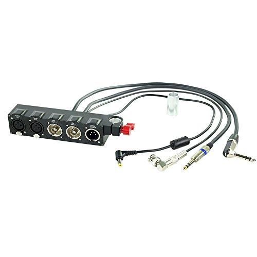 CAMTREE HUNT BMCC XLR Audio Video/Power Supply Converter for BlackMagic Cinema Camera (CH-AVC-BMC)