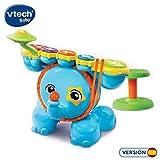 VTech Blue, la Batería Multirritmo - Batería Interactiva para Aprender Música, con Actividades que Animan al Niño a Tocar los Tambores (80-196722)