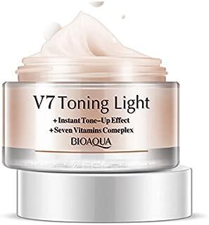 V7 Toning Light-Instant Tone & Up Effect + Seven Vitamins Complex, 50g (Orange)