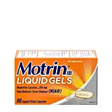 Motrin IB 200mg Ibuprofen Liquid Gel Pain Reliever/Fever Reducer for Aches & Pain, 80 ct