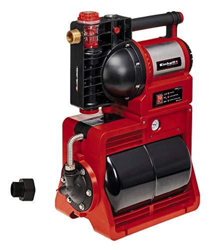 Einhell Hauswasserwerk GE-WW 1246 N FS (1.200 Watt, 4600 L/h max. Fördermenge, Flow-Sensor inkl. LED-Anzeige, Schmutz-/Saug-/ Wasserfüllanzeige, Frostschutz, Trockenlaufsicherung, 20 l Tank)