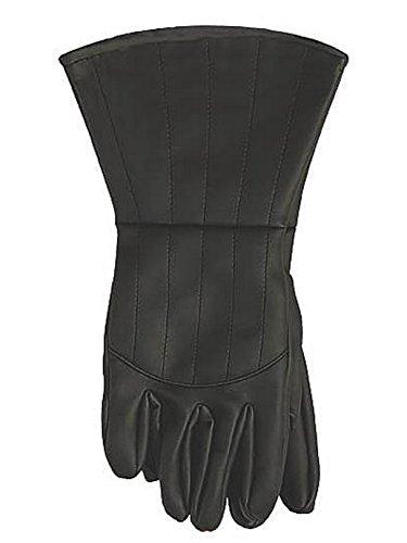 V For Vendetta Gloves Costume Accessory Black
