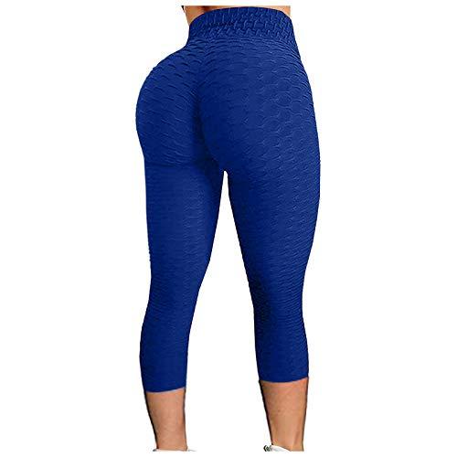 TIK tok Leggins Leggings Mujer Push Up Leggings para Mujer Mallas de Deporte de Mujer Mallas Pantalones Deportivos Alta Cintura Elásticos Yoga Fitness Leggins Deportivos Leggings