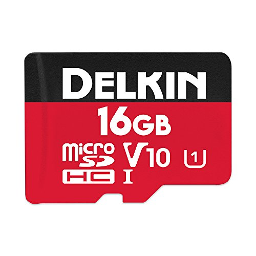 Delkin Devices 16GB Select microSDHC UHS-I (U1/V10) Memory Card (DDMSDR50016G)