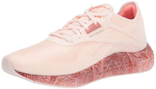 Reebok womens Flashfilm 3.0 Running Shoe, Ceramic Pink/Blush Metal/Twisted Coral, 8.5 US