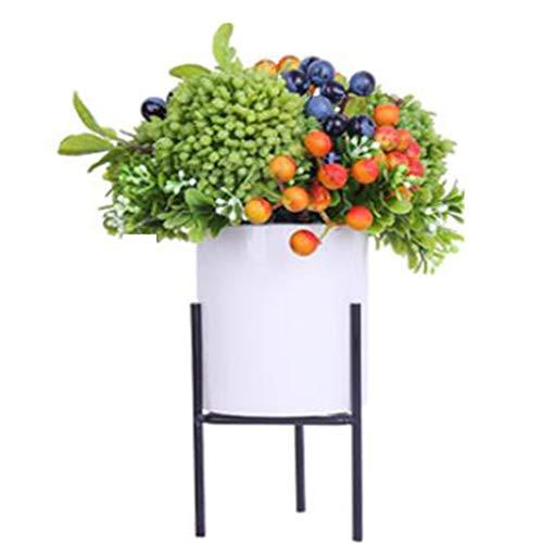 Sarazong Petite Fleur Artificielle fraîche Nordique, Ornements de décoration, Fleur de lis, Fleur réaliste réaliste par Contact pour la décoration de la Maison Fausses Fleurs,B