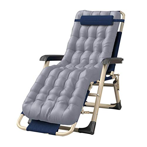 FHISD Folding Zero Gravity Chairs Oversized Comfortable Cotton Pad, Adjustable Patio Lounge Recliner Chair with Headrest for Backyard Deck Poolside Beach,Support 330l