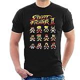 Photo de Street Fighter II Pixel Characters Men's T-Shirt