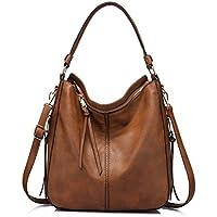 Hobo Faux Leather Handbag